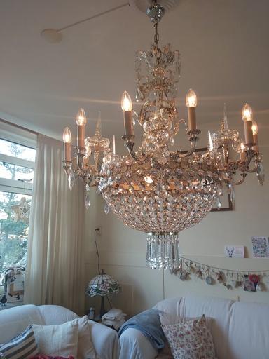 Barok kristallen Kroonluchter