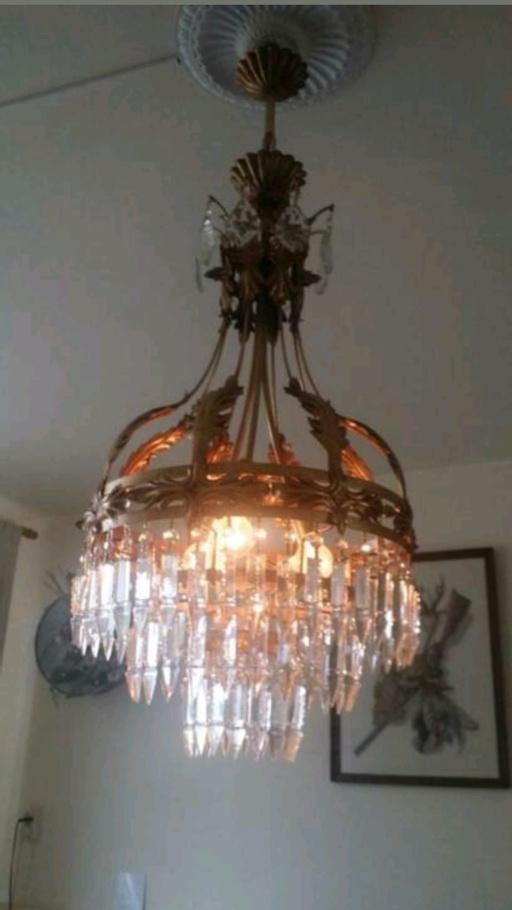 France kristallen lamp